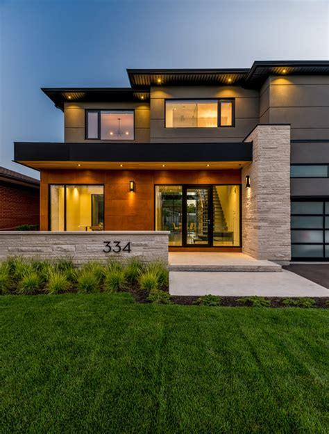 southview modern home contemporary exterior toronto southview modern home toronto by ozimek architectural