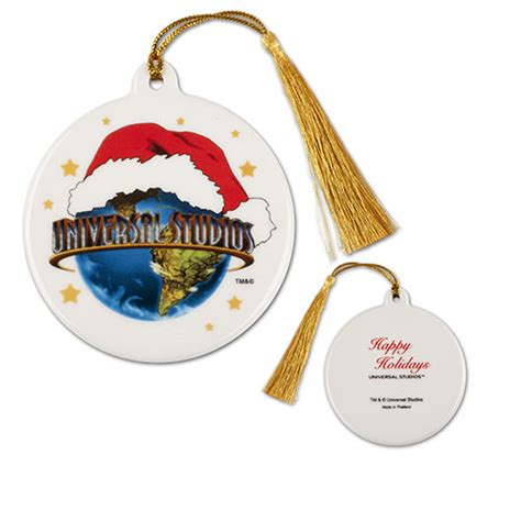 your wdw store universal studios santa hat ornament