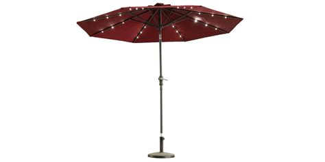 Lighted Patio Umbrellas Solar Lighted Patio Umbrellas 10 Cool Solar Patio Umbrellas