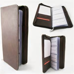 business cards holder book genuine leather business card holder 160 cards organizer book ids cards brown ebay