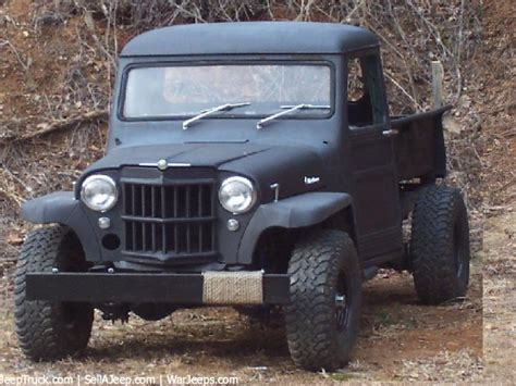 willys jeep truck for sale large