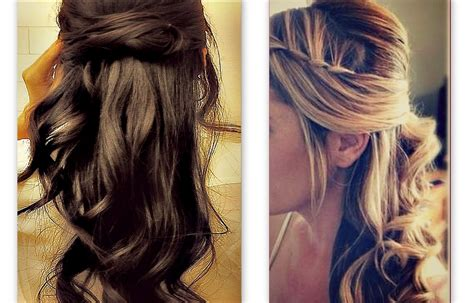 up hairdos back and front hair tutorial cute hairstyles with twist waterfall braid
