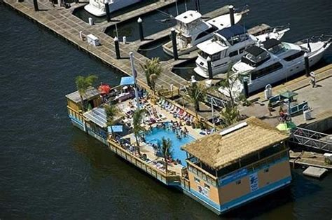 party boat baltimore tiki barge baltimore with pool for sale aquatic urbanism