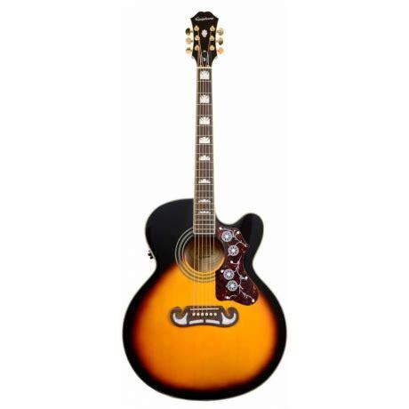 Gitar Akustik Elektrik Epipone Pro 1 Original 1 epiphone ej 200ce vsb elektro akustik gitar doremusic