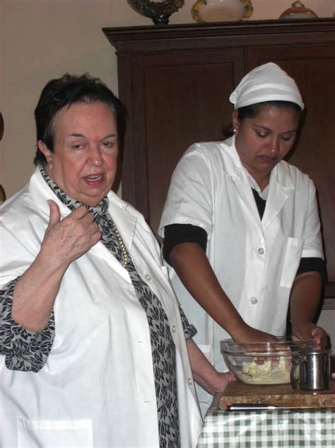 eleonora consoli learning to cook traditional sicilian food from italian tv