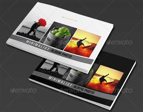15 Best Photo Album Templates Psd Indesign Design Freebies Indesign Photobook Templates