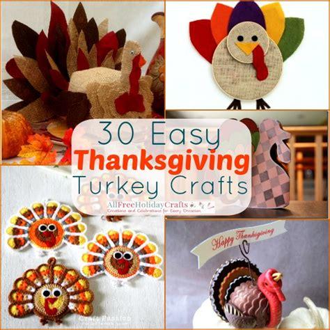 free thanksgiving craft ideas for 30 easy thanksgiving turkey crafts allfreeholidaycrafts