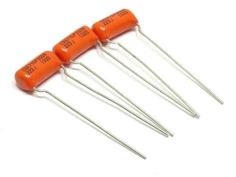 orange drop capacitors for audio sprague 022mfd orange drop cap pack of 3 capacitors electronics