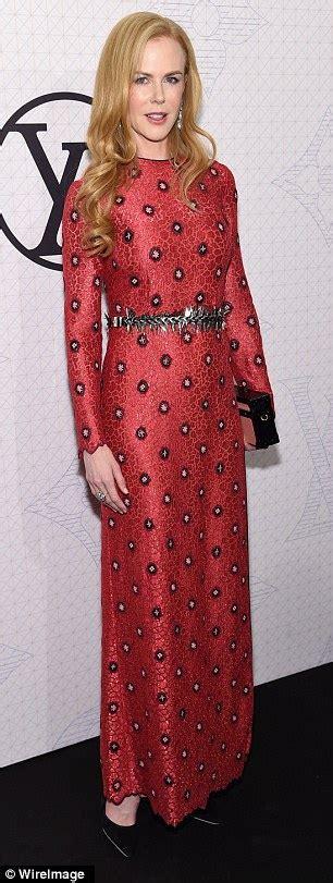 Kidman And Keith To Design Clothing Range by Kidman Shines In Custom Made Louis Vuitton Dress