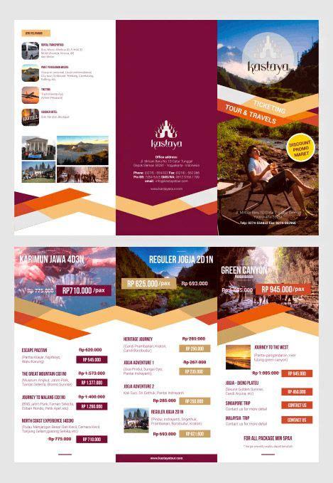 30 contoh desain brosur lipat tiga 30 trifold brochure 30 creative exles of tri fold brochure designs
