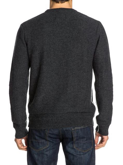 Sweater Quiksilver Original The Knit Crew Sweater Eqysw03025 Quiksilver