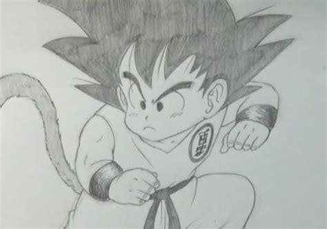 imagenes para dibujar a lapiz de goku c 243 mo dibujar a goku de peque 241 o uncomo