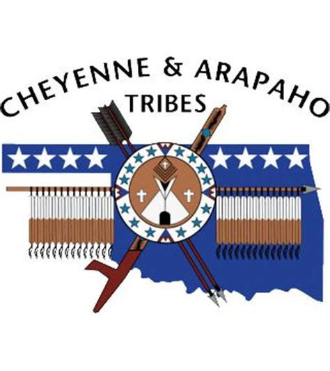 Home And Wall Decor by Cheyenne Amp Arapaho Tribal Logo Black Catv47 Web Store