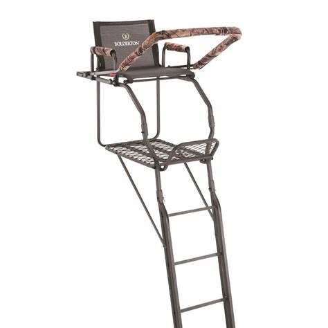 comfort zone ladder stand replacement seats guide gear 13 deluxe tripod deer stand 177429 tower