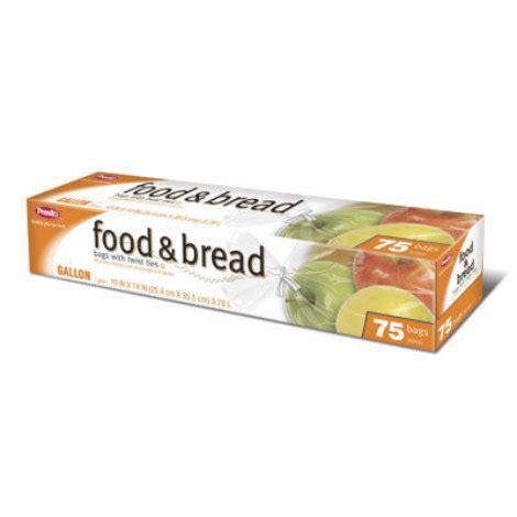 presto gallon food bread storage bags 75 ct by presto