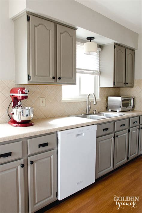 updated kitchen cabinets home tour the golden sycamore
