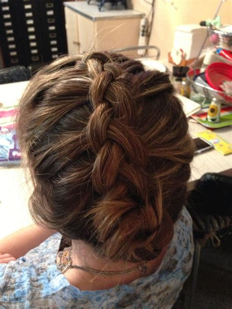 braids for thin hair soft french braid for thin hair cute hairstyles pinterest