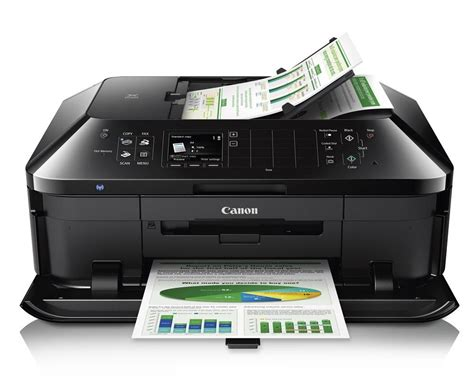 Printer Canon Pixma Wifi canon pixma mx922 wireless office all in one printer review rating pcmag