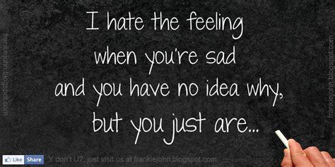 feeling sad quotes quotesgram