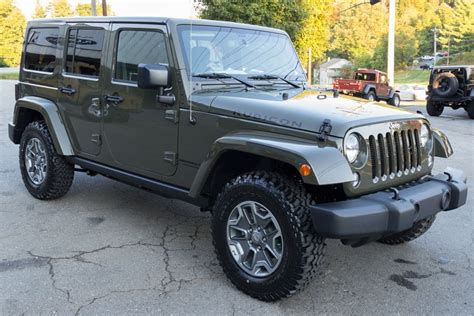 Rubicon Jeep 2015 2015 Jeep Wrangler Rubicon Unlimited Tank