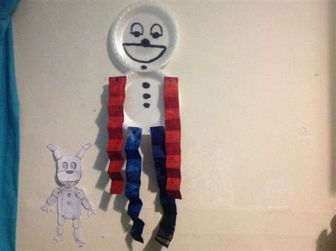 How To Make Paper Plate Doll - fnaf paper plate doll by plushtrap7 on deviantart