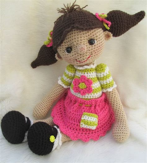 cute doll pattern love to do this with scraps from baby cute crochet doll crochet patterns pinterest
