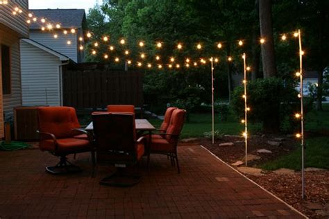 backyard hanging light ideas the s catalog of ideas