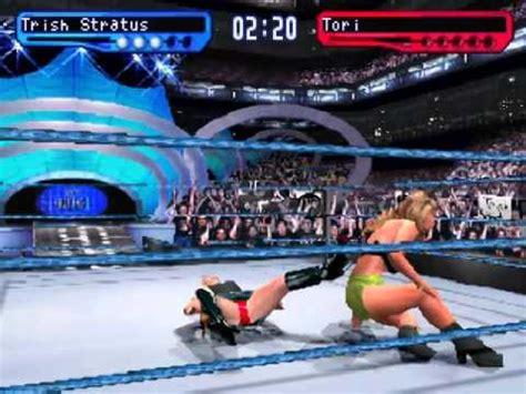 trish stratus smackdown 2 wwf smackdown 2 know your role trish stratus vs tori