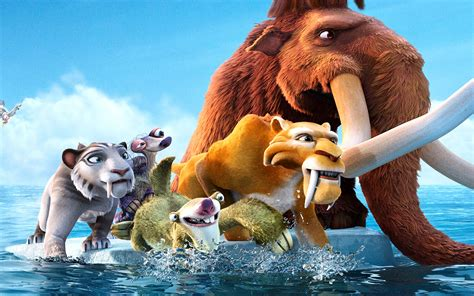 wallpaper cartoon ice age ice age 4 wallpapers hd wallpapers id 11685