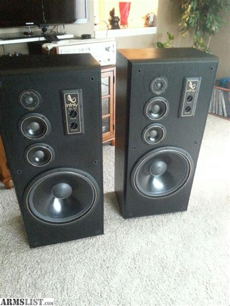 infinity sm 155 armslist for sale trade infinity sm 155 stereo speakers