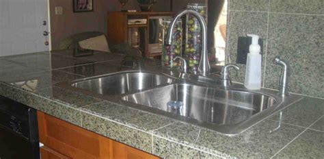 Chicago Kitchen Faucet how to install a granite tile countertop today s homeowner