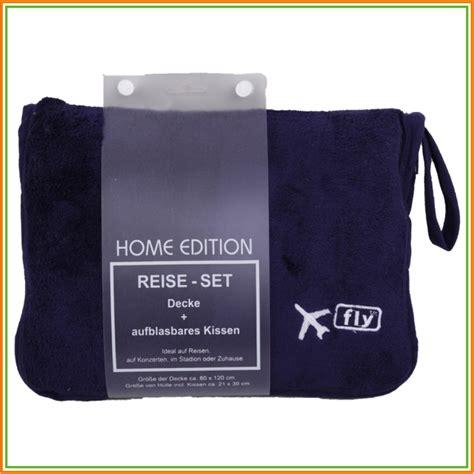reise set fleece decke aufblasbares kissen reisedecke - Decke Kissen Set