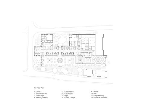 georgetown floor plan student center at georgetown university ikon 5