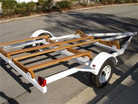 pontoon boat trailer design homemade pontoon trailer plans bing images