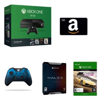 Xbox One Gift Card Deal - today only awesome xbox one bundle deal for prime day 50 amazon gift card check