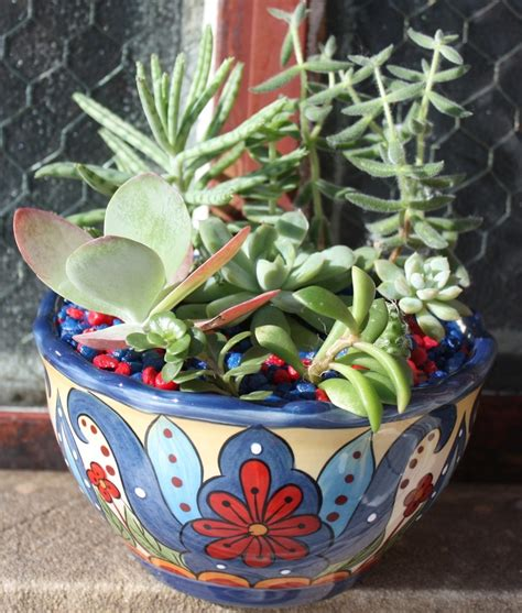 Mexican Planters Outdoor by 1000 Images About Mexican Planters On Glazed
