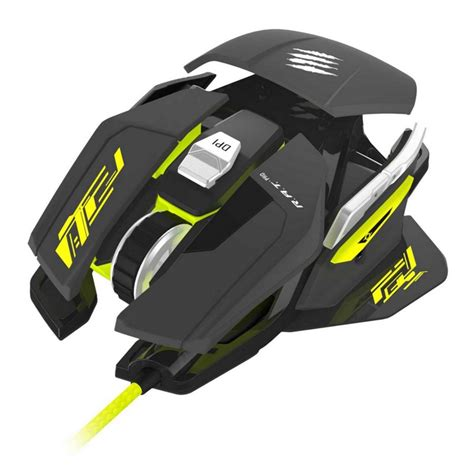 Dijamin Madcatz R A T 3 Black Gaming Mouse mad catz r a t pro s gaming mouse 5000 dpi