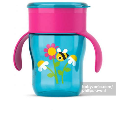 Philips Avent Grown Up Cup 12m 200ml Botol Minum Anak jual murah philips avent grown up cup 9m deco flower