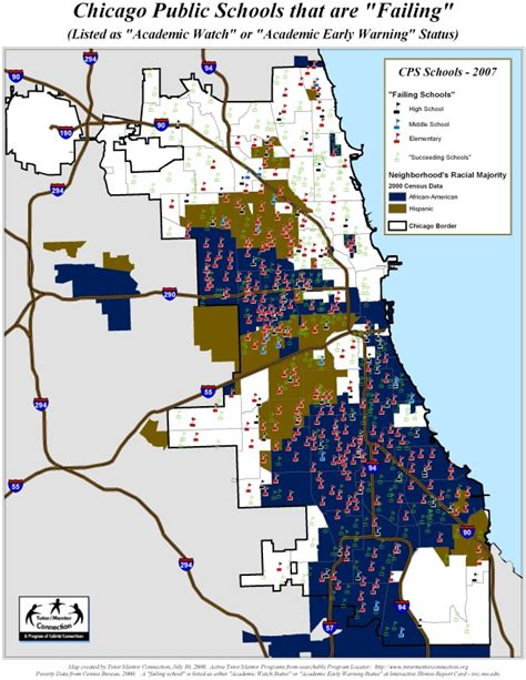 chicago map by race chicago map race