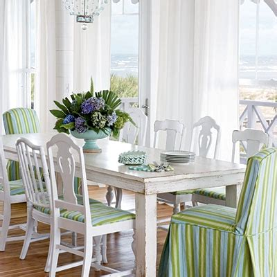 coastal kitchen table distressed painted furniture ideas for a coastal look completely coastal