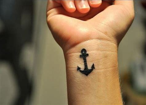 anchor tattoo wrist 46 anchor tattoos on wrists