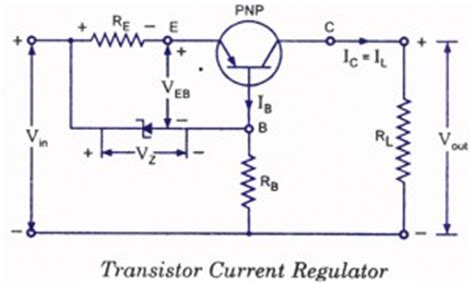 transistor regulator gacun controlled transistor series regulator with and circuit protection electronic