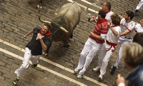 Running With The Bulls bull runs in spain claim 10 lives cambly