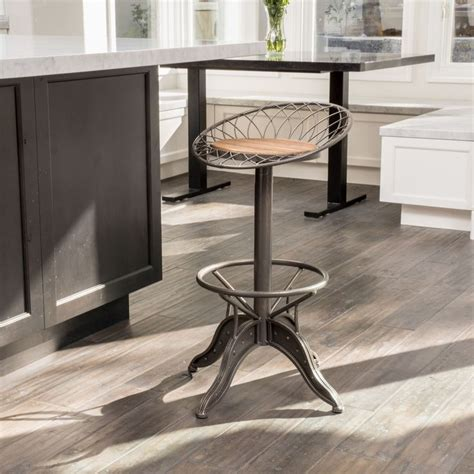 deals on bar stools grayson weathered wood barstool by christopher knight home