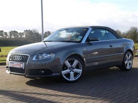 2008 audi a4 s line for sale 2008 audi a4 s line 2 0tdi cabriolet auto for sale in