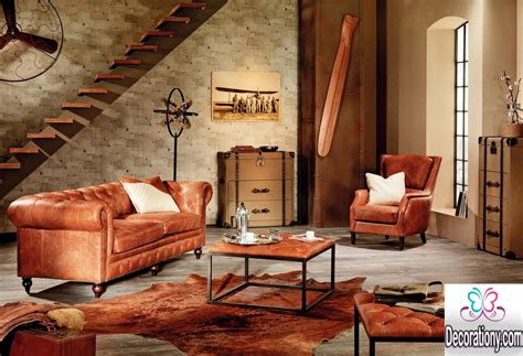 Dark Brown Walls Living Room by 25 Stunning Rustic Living Room Ideas Decorationy