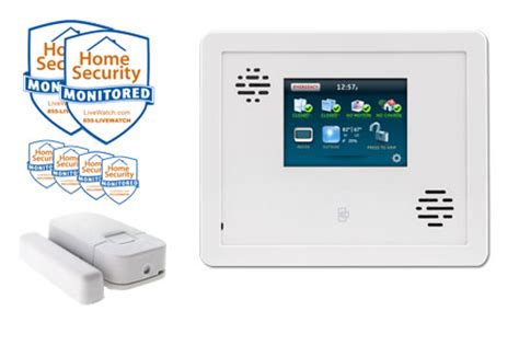 automated wireless home security burglar alarm package