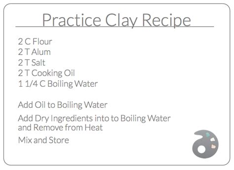how to make clay a recipe to make practice clay and other diy clay options