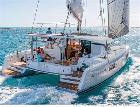 catamaran cruising costs lagoon 42 catamaran building sale and chartering of