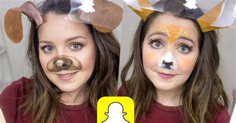 snapchat puppy deer filter costumes part
